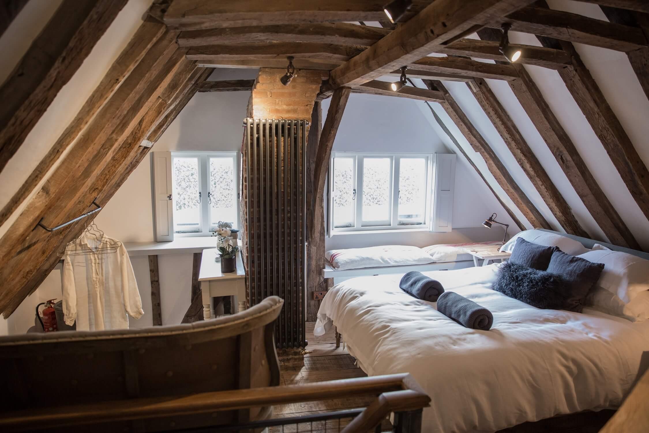 West Street Loft Bedroom