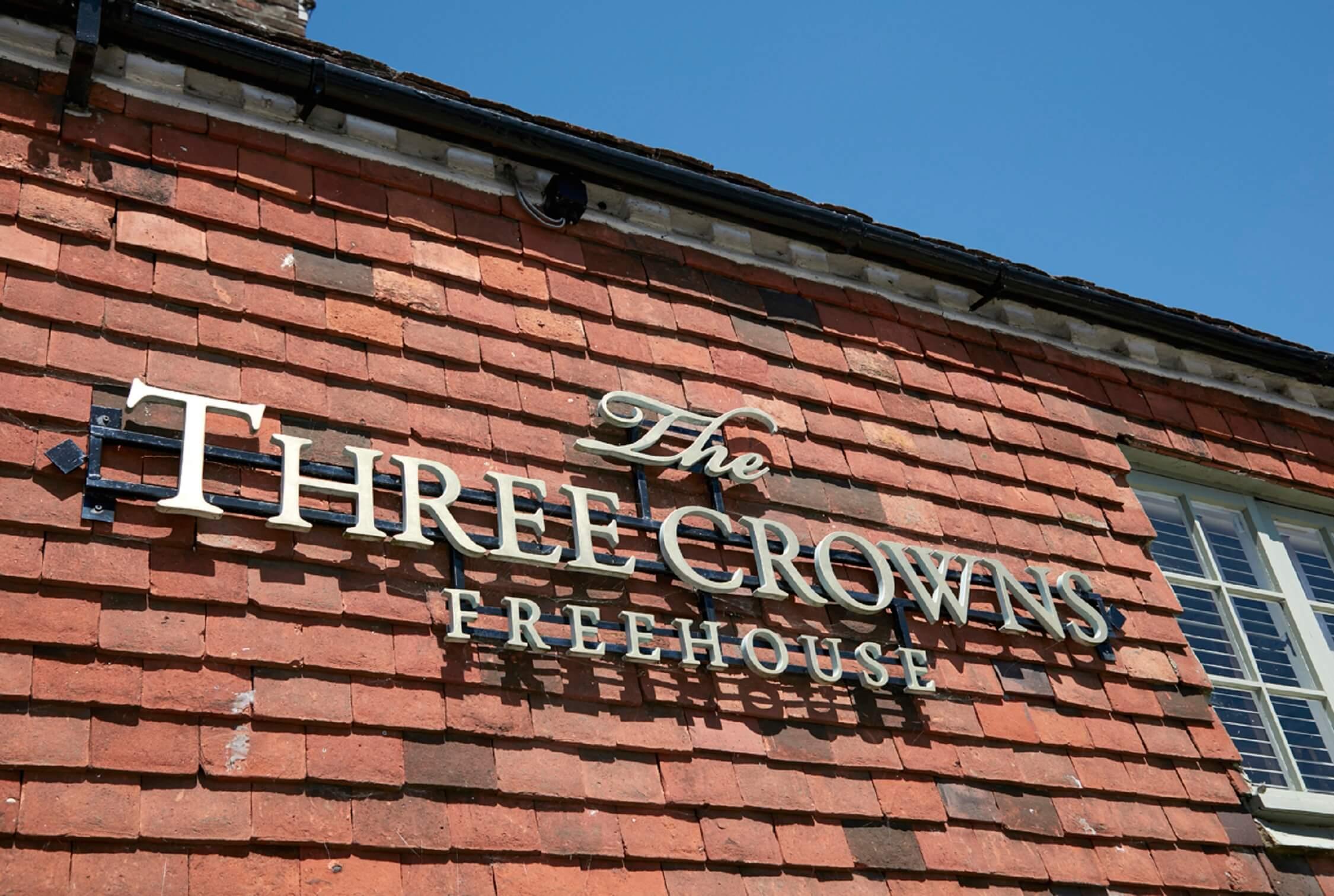 Three Crowns - fantastic local pub