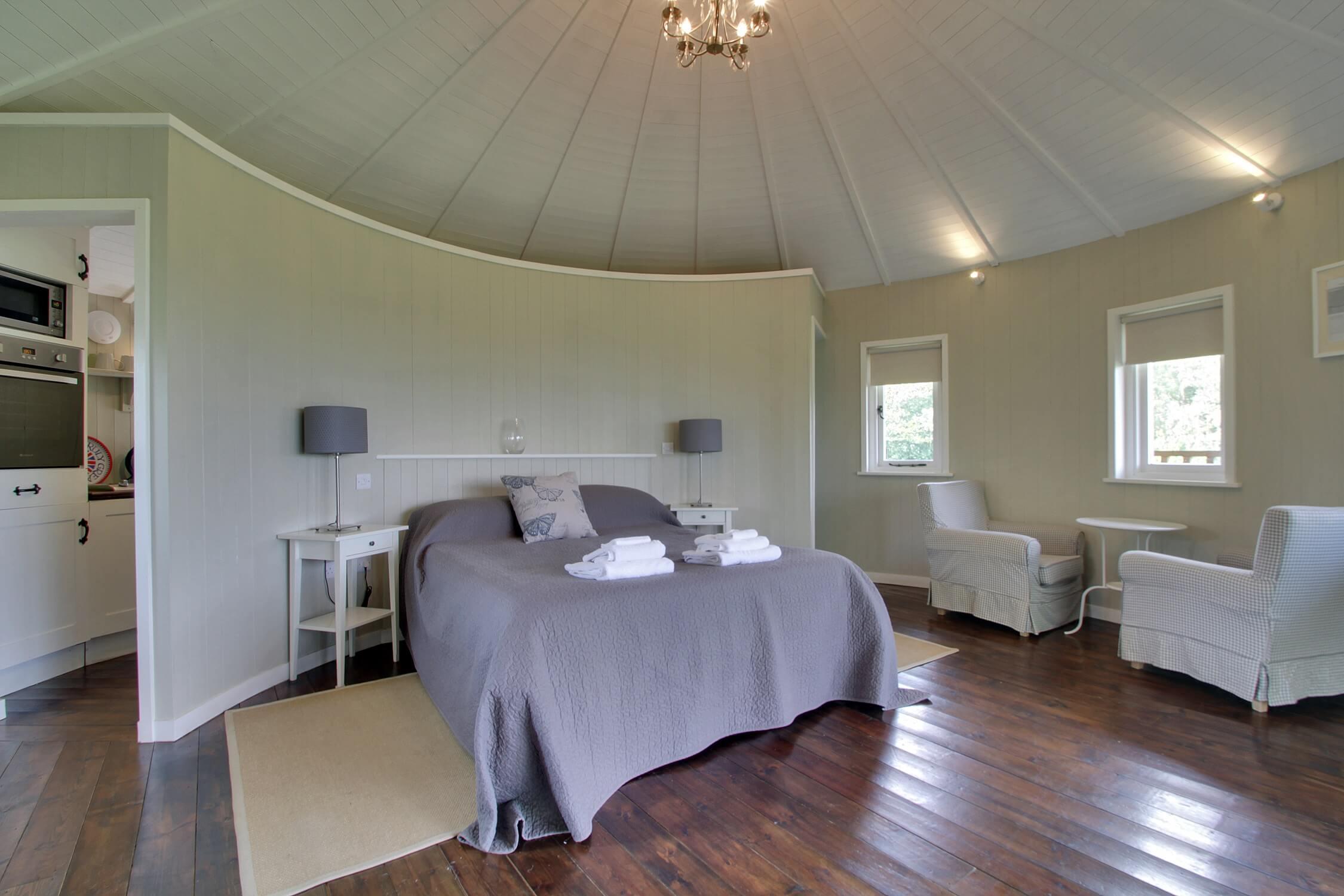 Fair Oak Farm - Eco Lodge interior