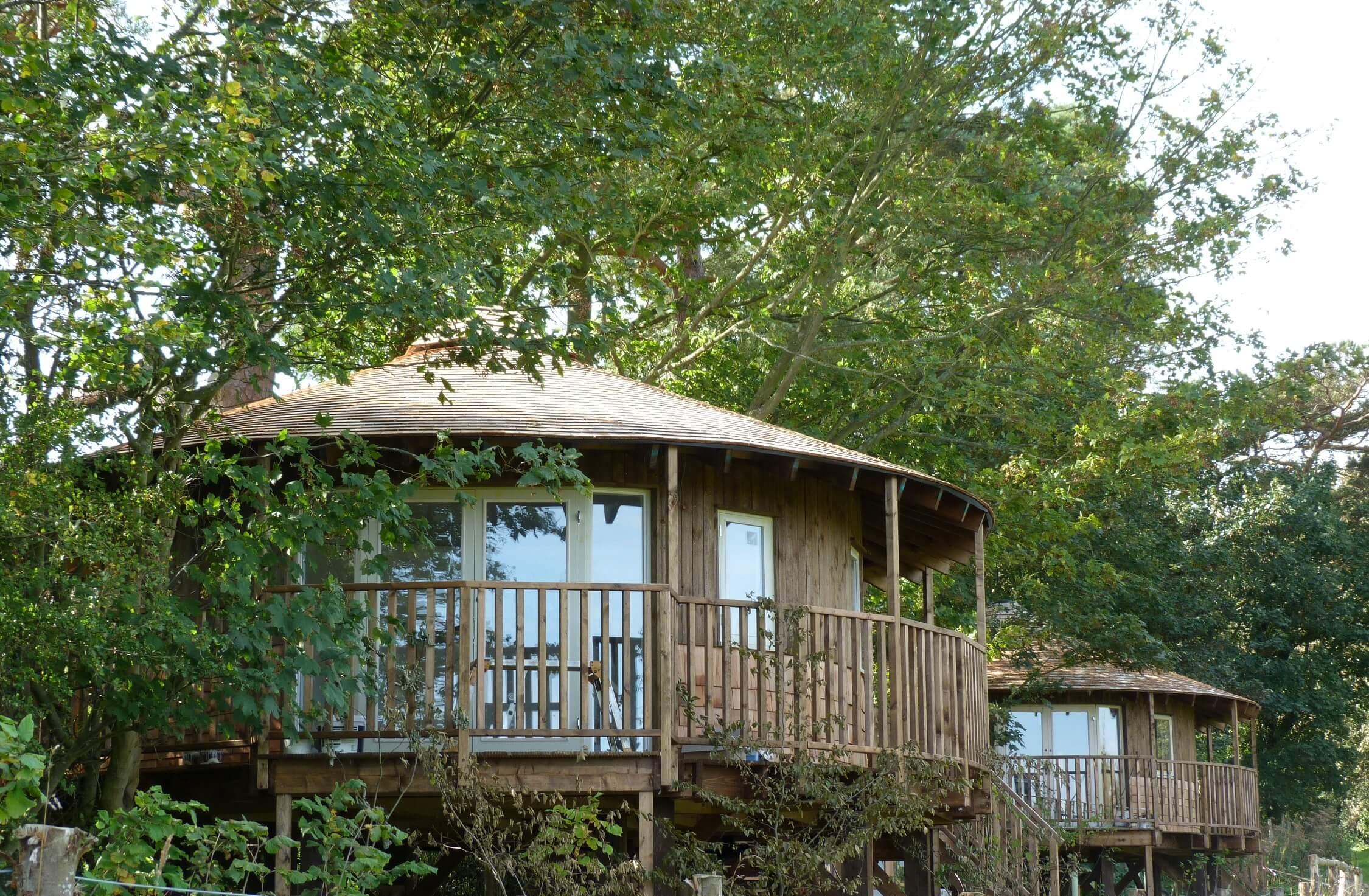 Fair Oak Farm - Eco lodge treehouses
