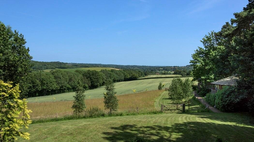 Fair Oak Farm - Valley view