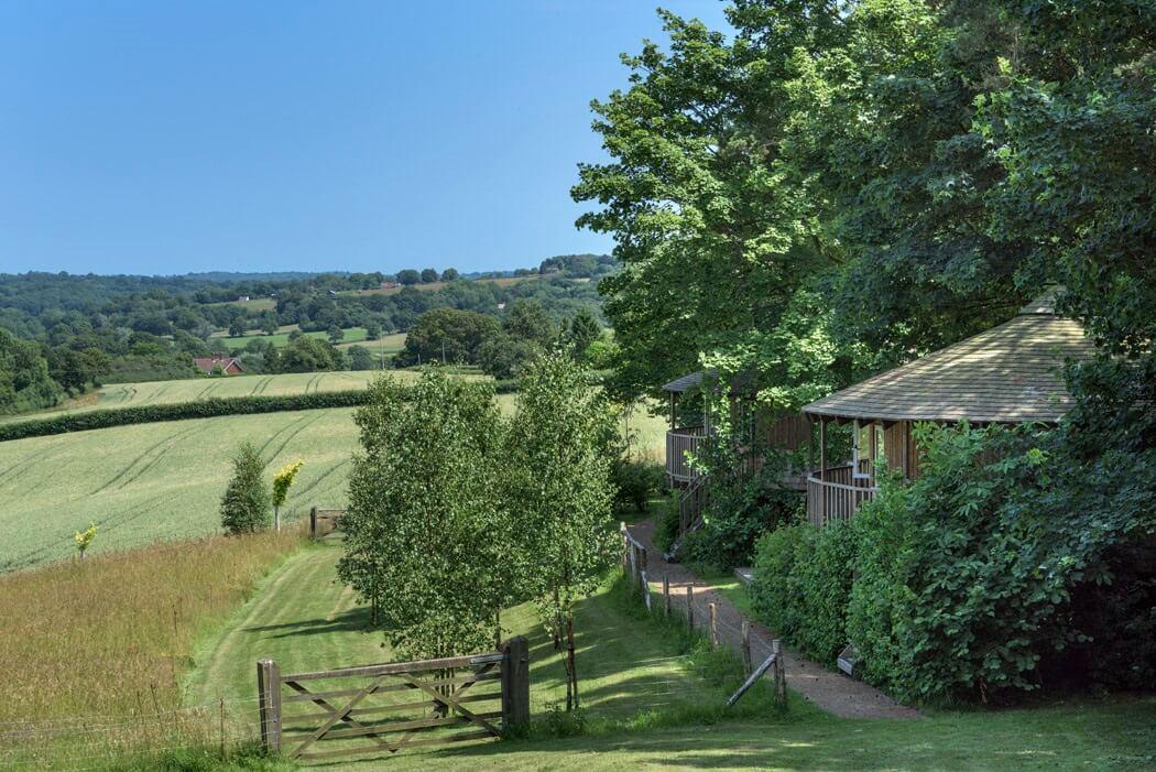 Fait Oak Farm - Valley view