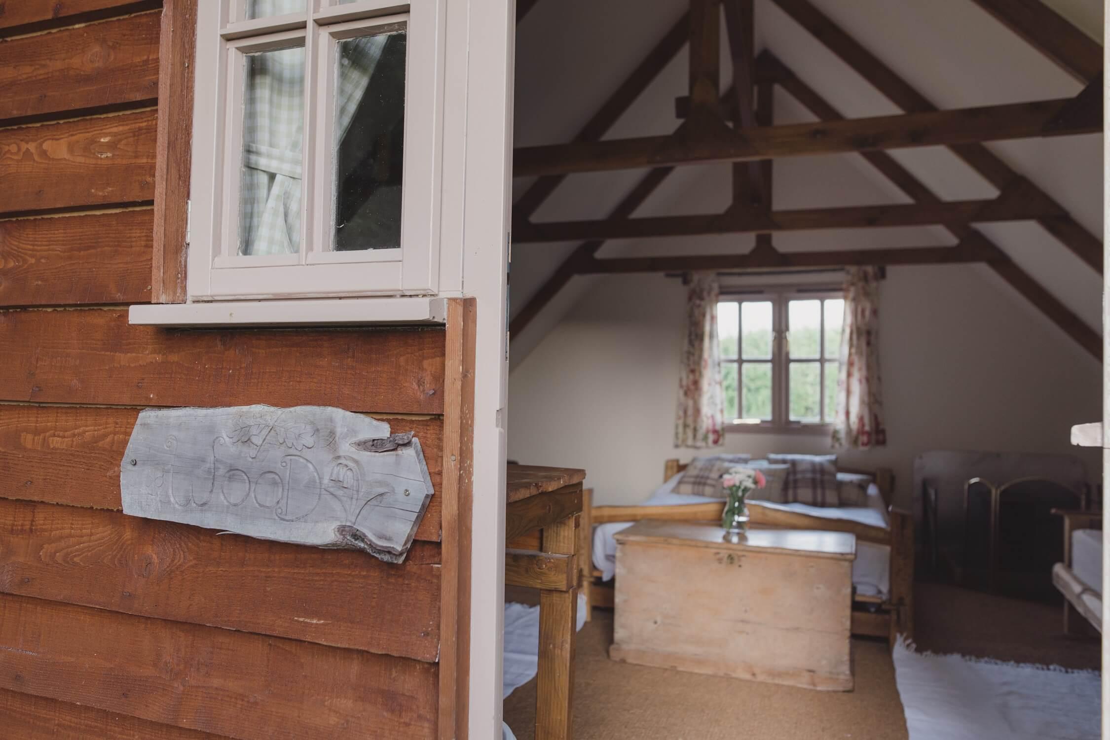 Swallowtail Farm - Cabin interior