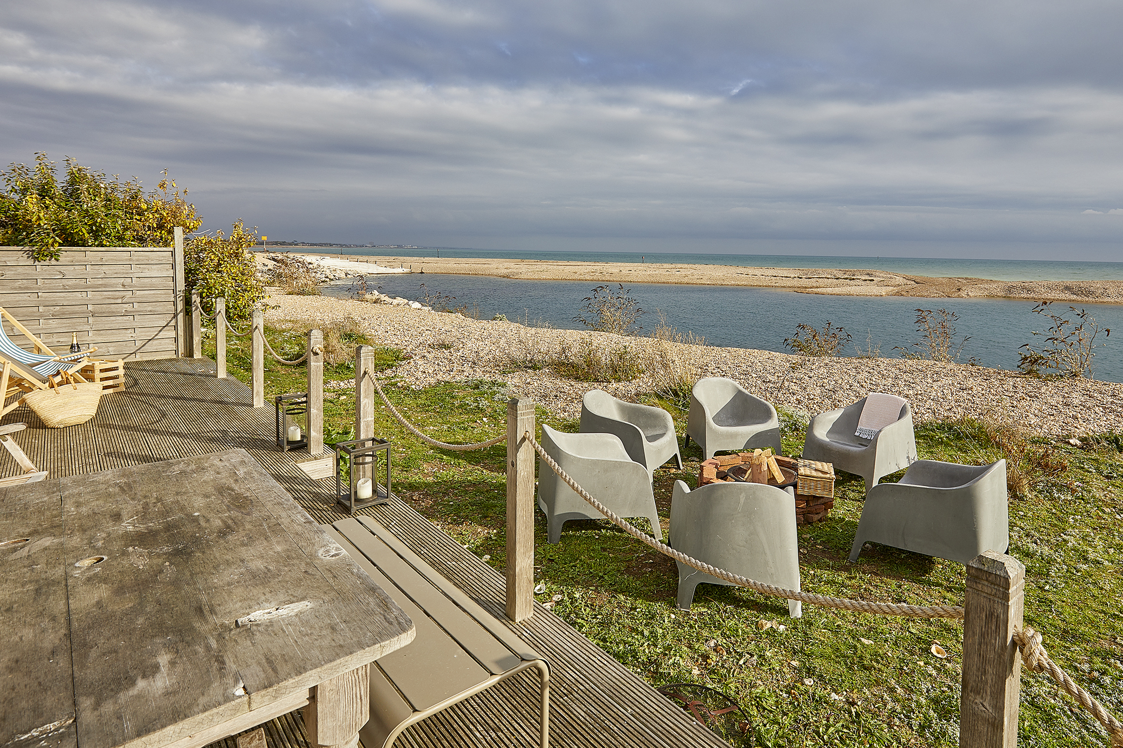 The Bolthole on Pagham Beach