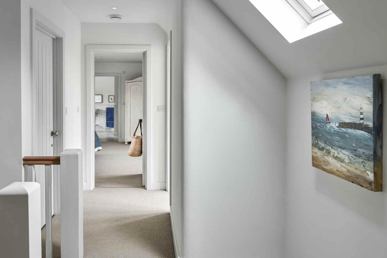 Flagstoens - upstairs hallway