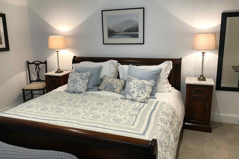 Bedroom 2 - super king bed