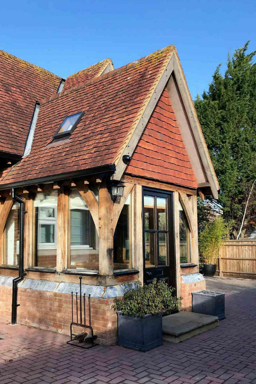 Itchenor House - Front door