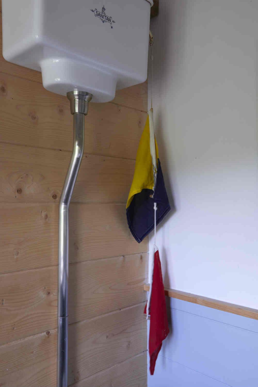 Flag loo flush