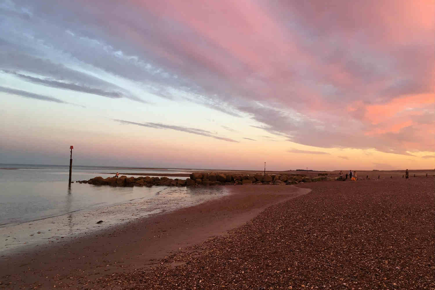 Pagham Beach sunset
