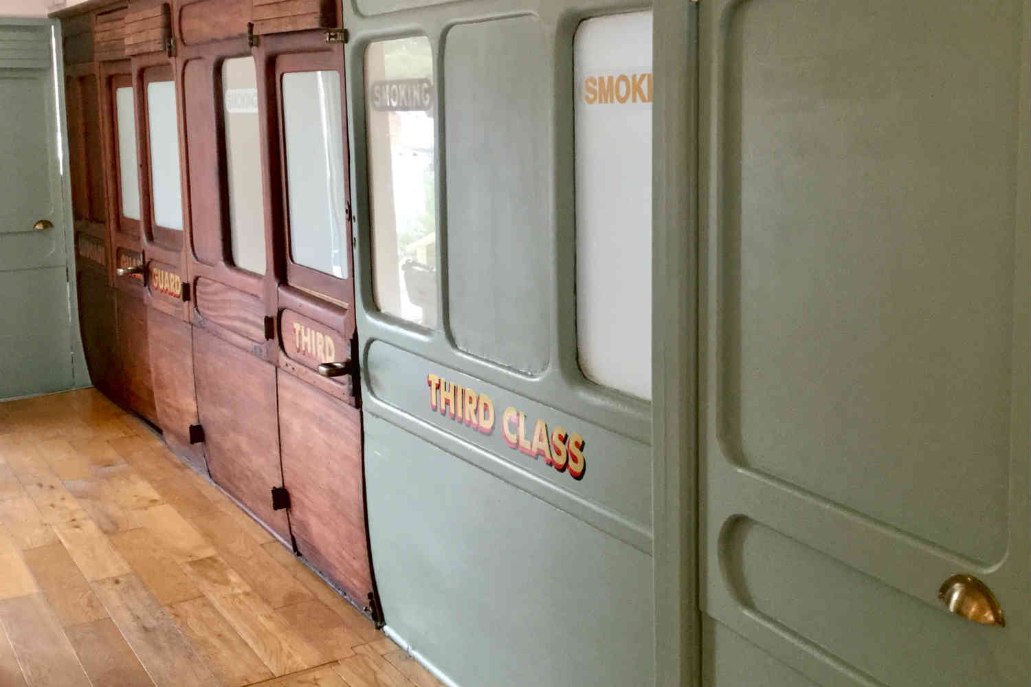 Victorian Railway carriages