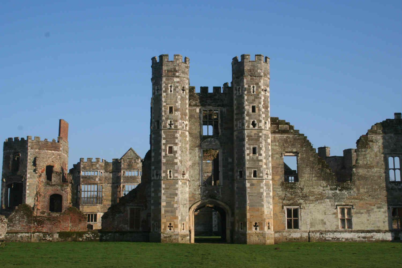 Cowdray ruins - five minutes walk away
