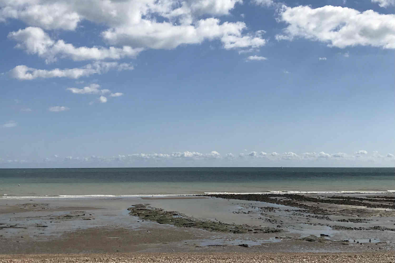 Pett Level beach - East Sussex