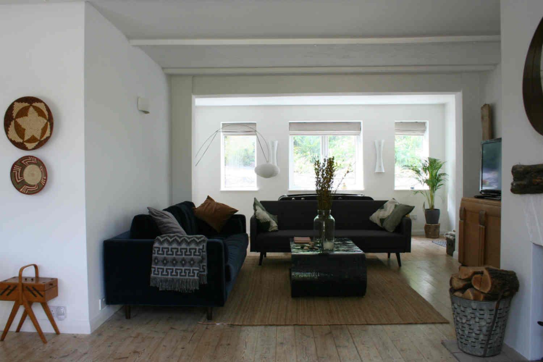 Scandi style sitting room