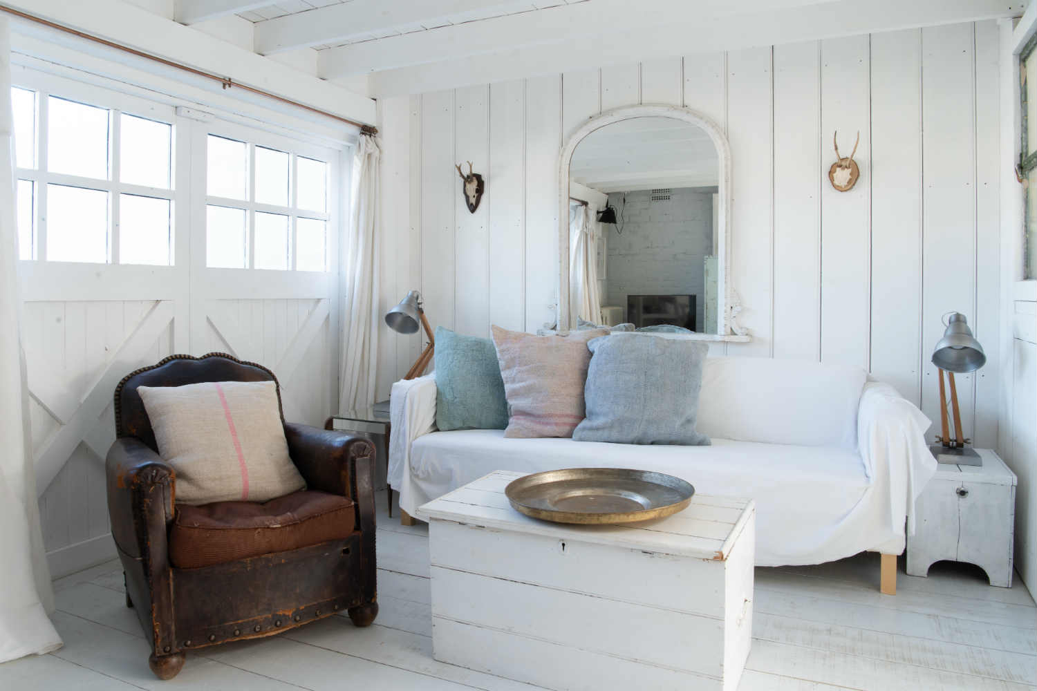 Sitting area at Camber Sands Cottage