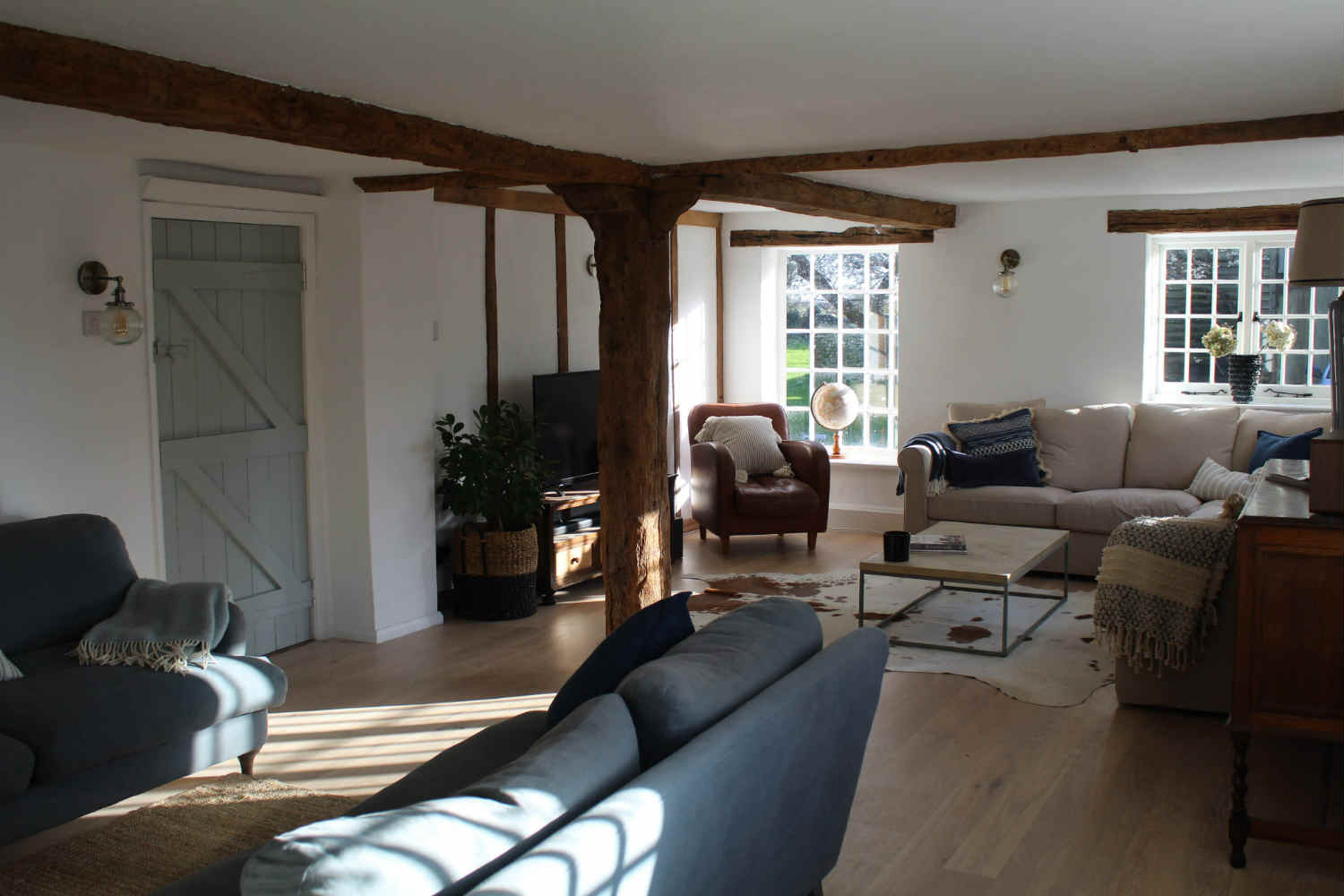 Living Room at The Farmhouse