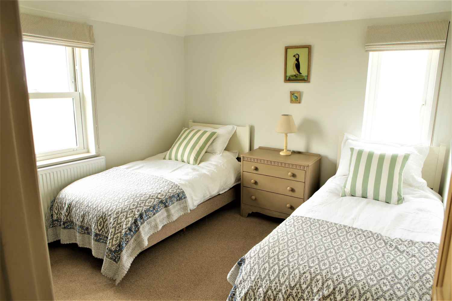 Walland Cottage - twin room