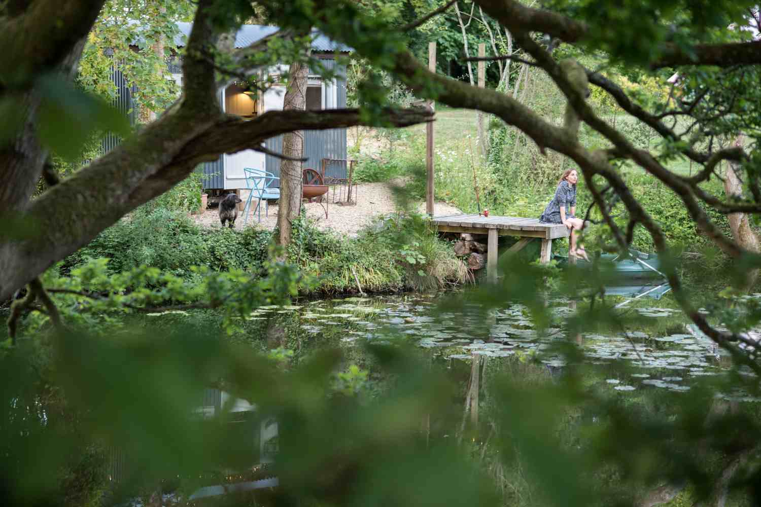 The Hyde is set on a beautiful lake in the 3 acre grounds of a grade II listed property. 3