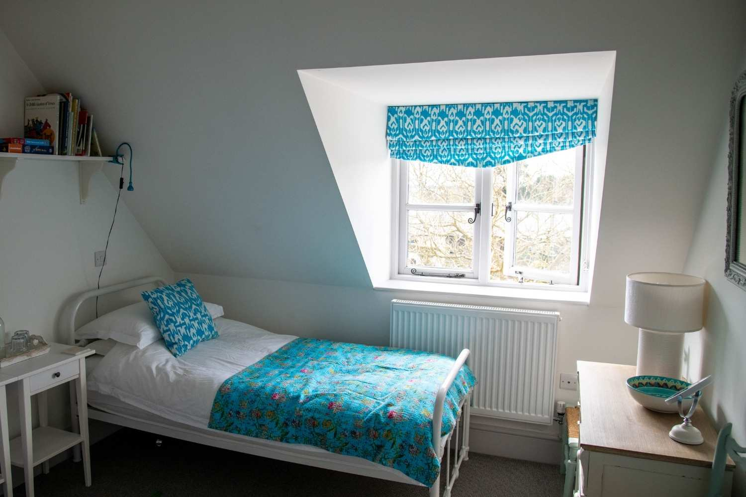 Bedroom Two - with cottage window