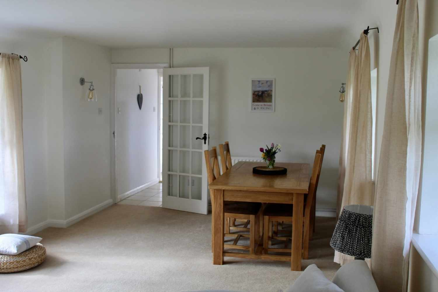 Dining area - space for four