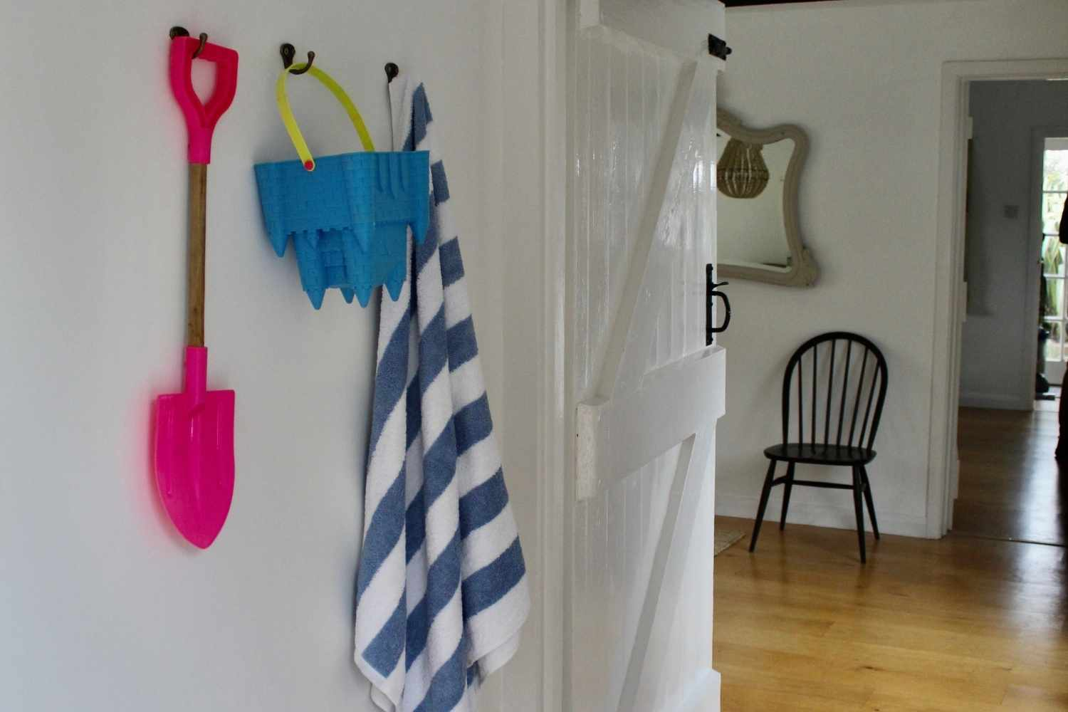 Hallway - complete with beach toys
