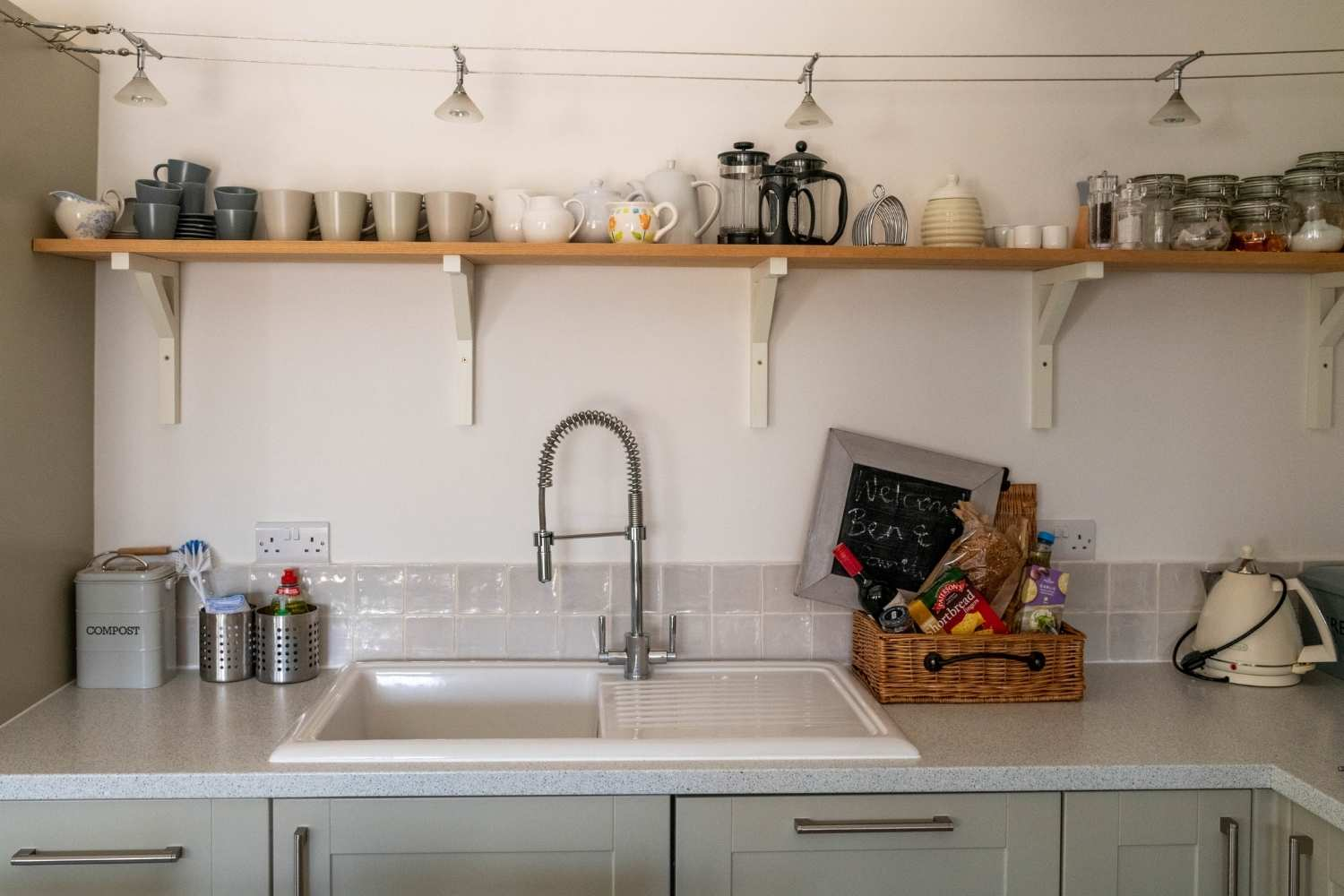Your well equipped kitchen will be a home from home