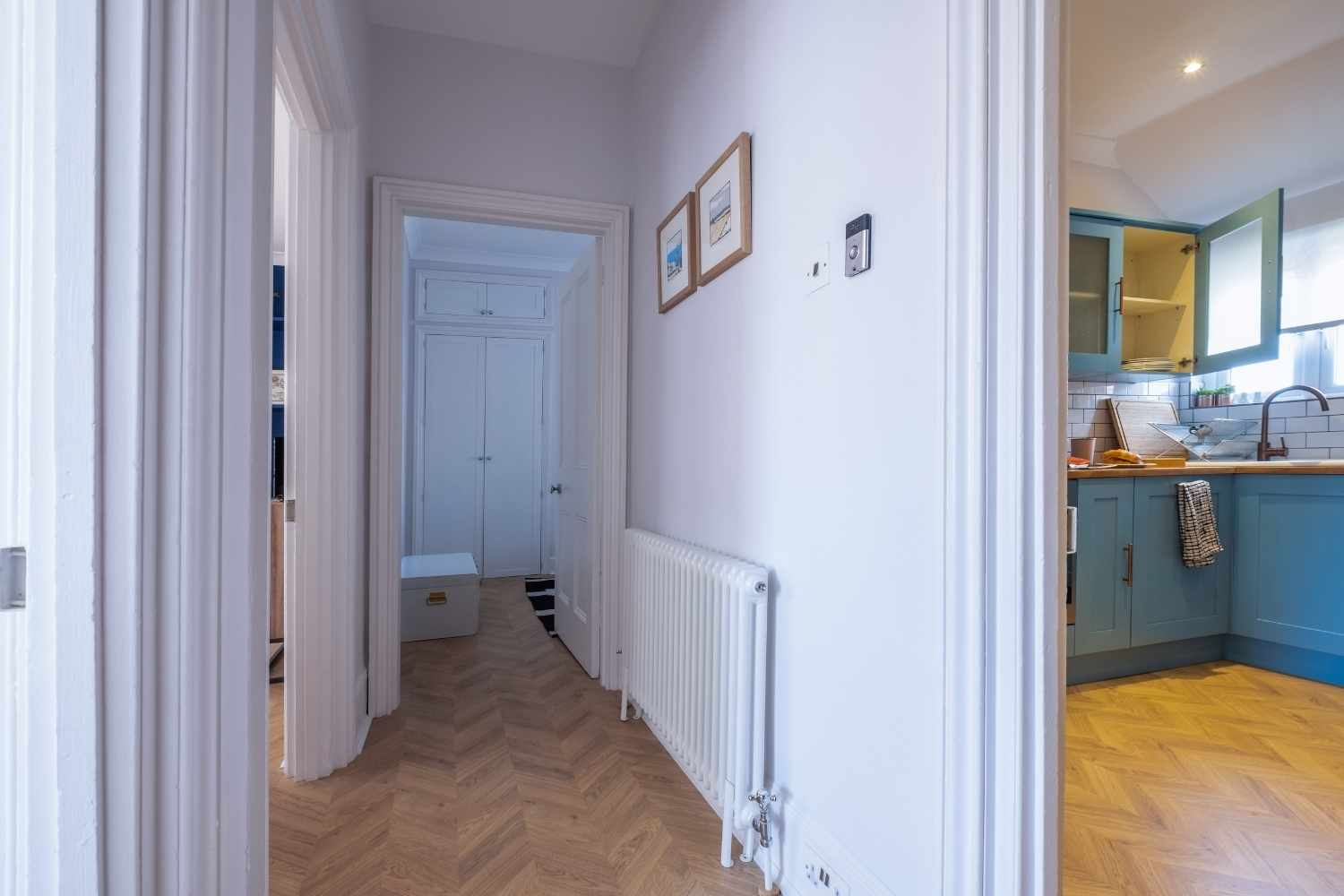 A welcoming hallway