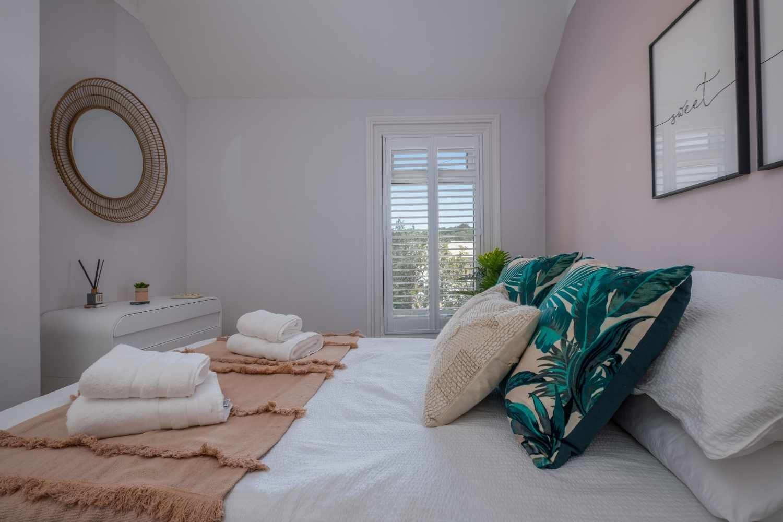 Bedroom two - calm colour palette