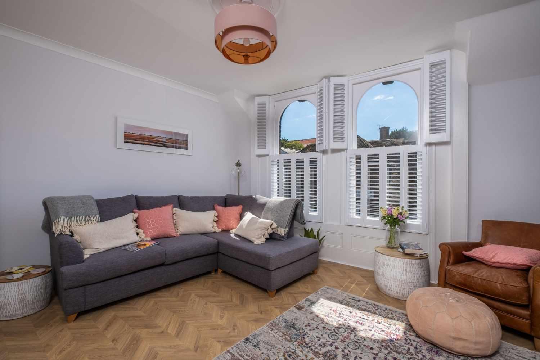 Light airy sitting room