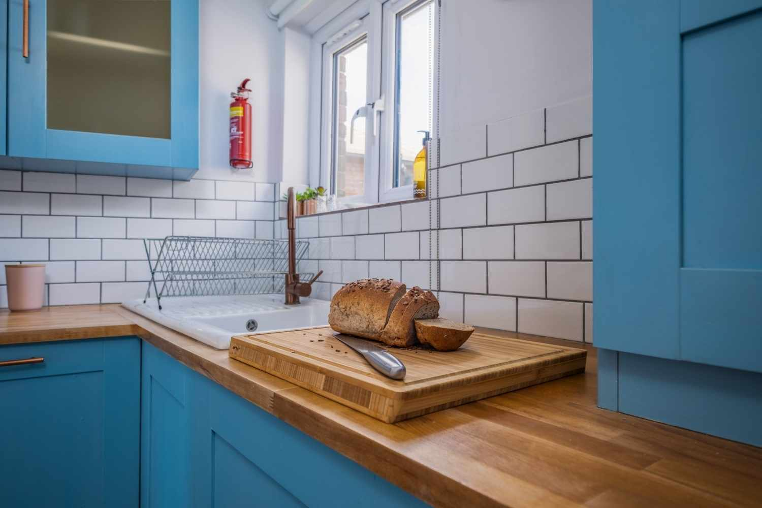 Well equipped and fun kitchen space
