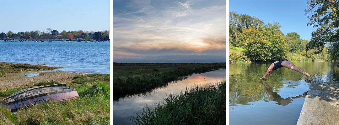 Wild Swimming Locations in Sussex
