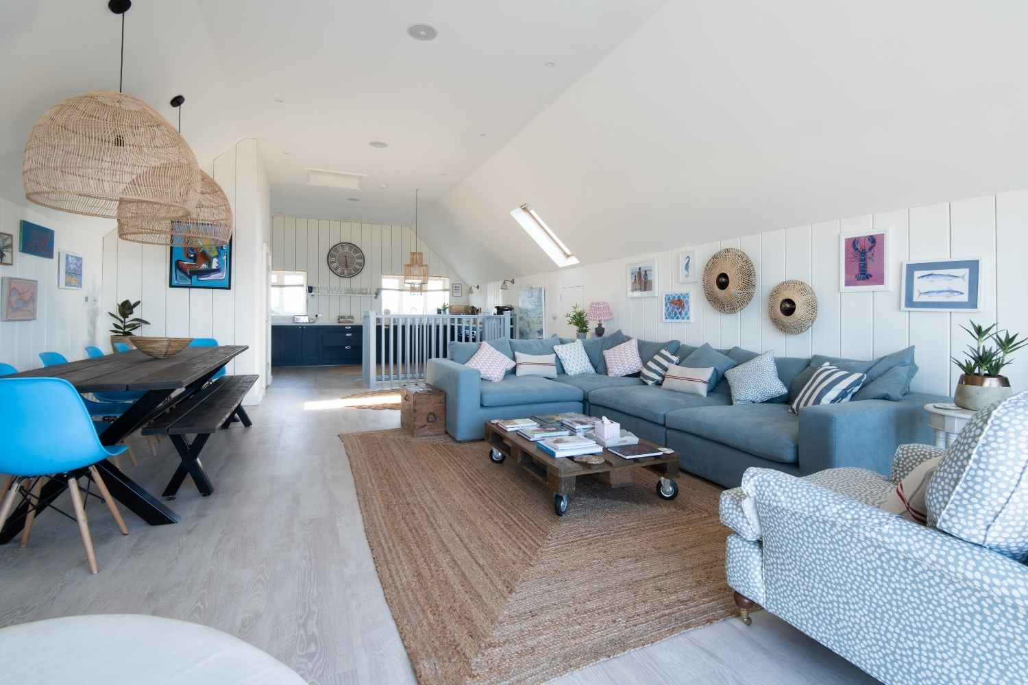 A large sociable living space