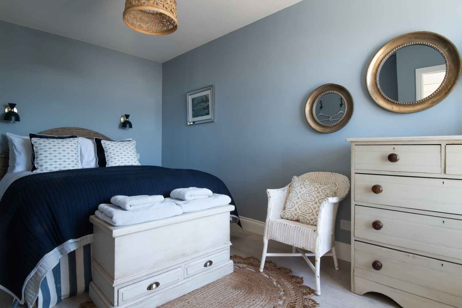 Bedroom Two - Kingsized with sea views
