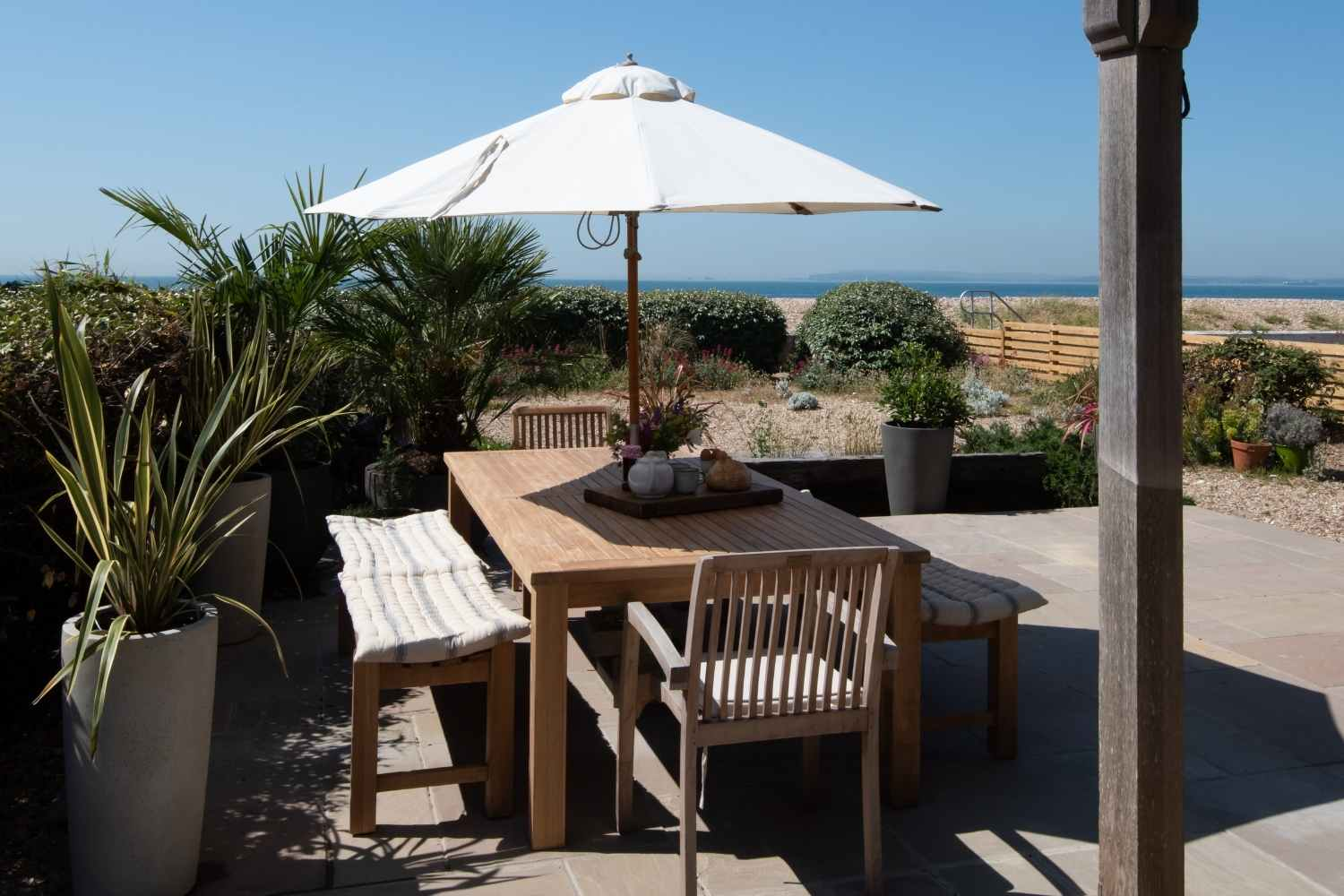 Ground Floor terrace with space for alfresco dining