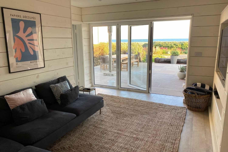 Ground floor snug - bifold doors for sunny days