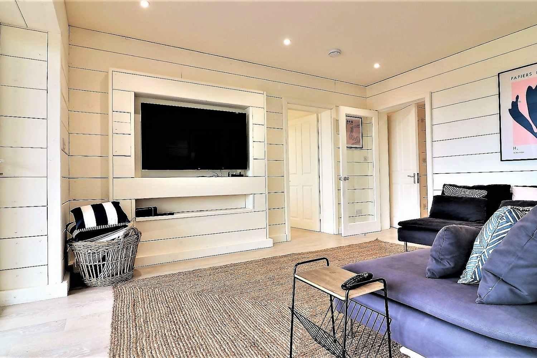 Ground floor snug - with plenty of space to relax