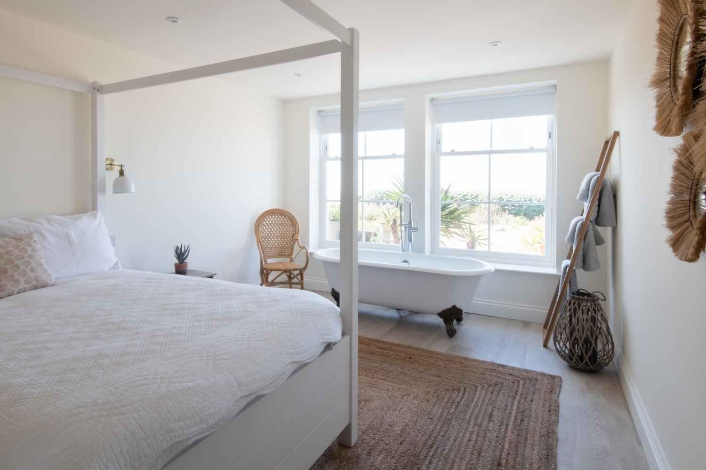 Master bedroom - beautifully styled