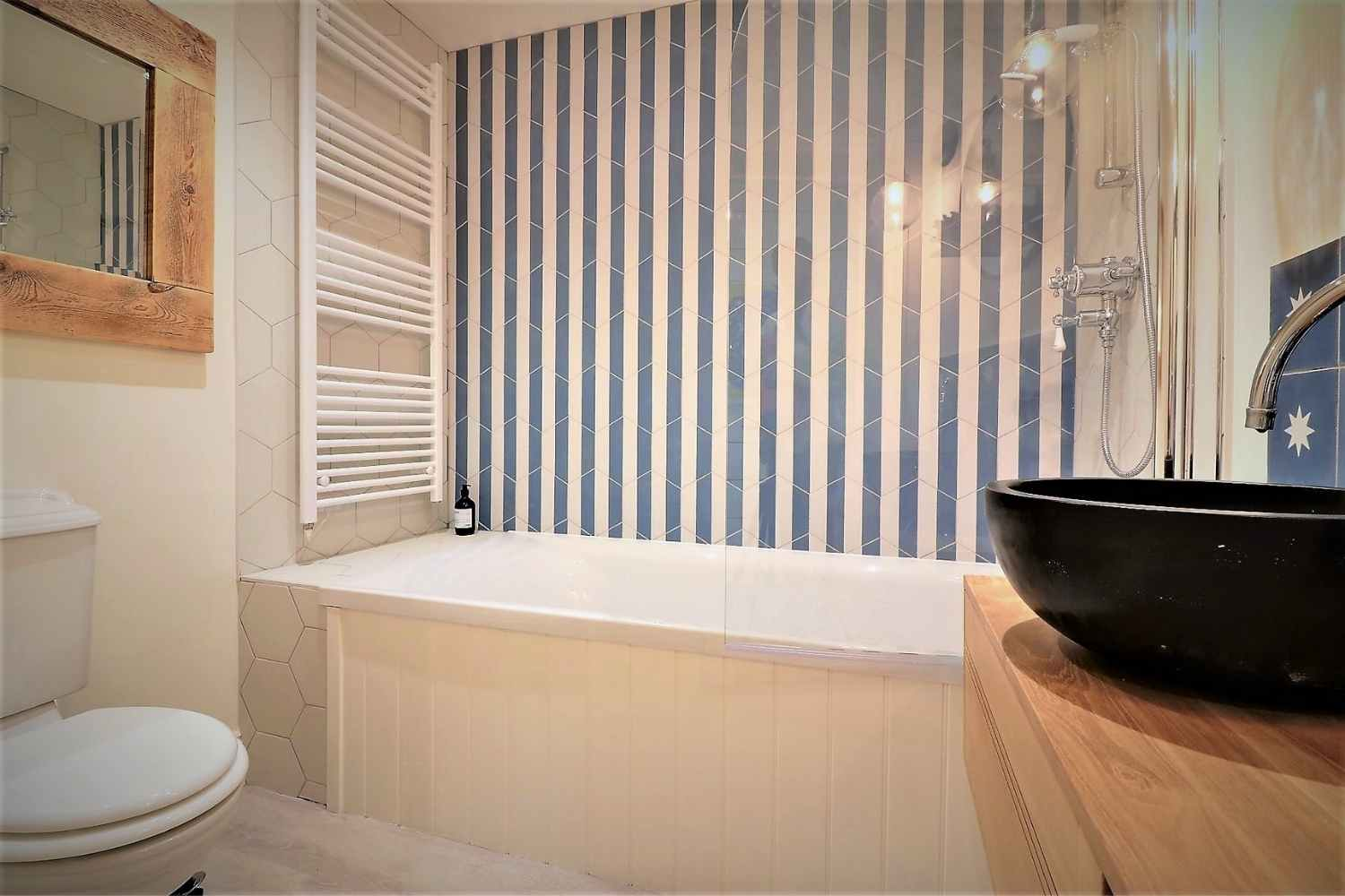 Stunning, newly fitted family bathroom