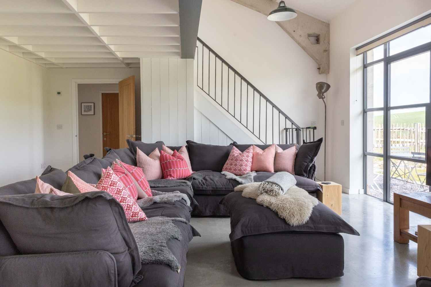 Stylish and cosy sitting room