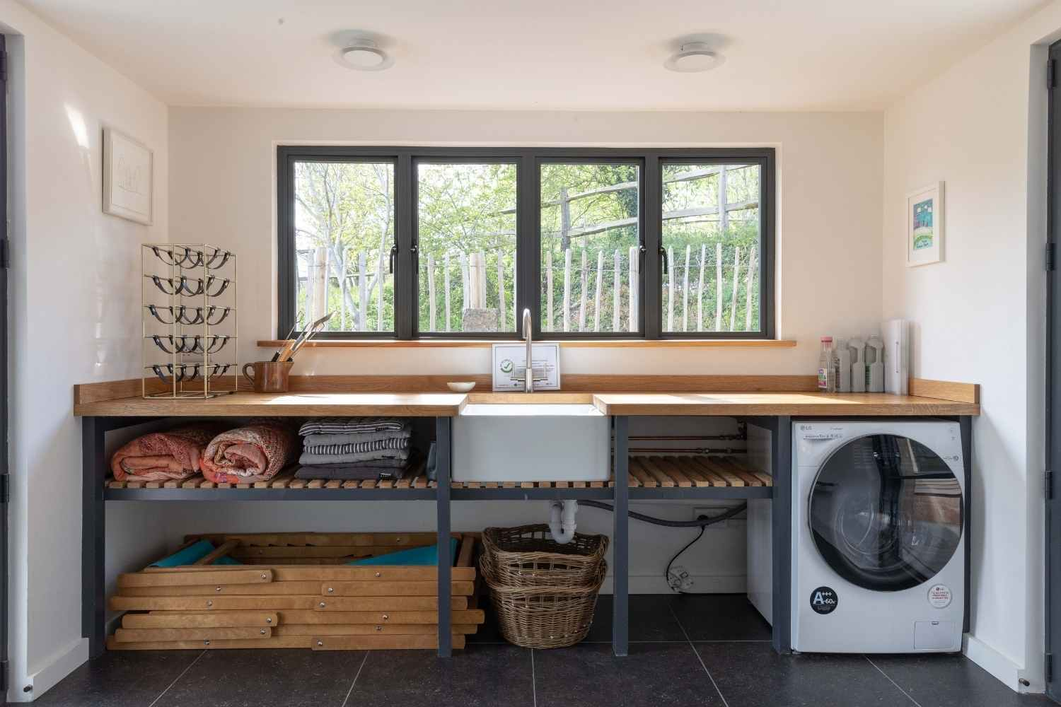 Utility room with everything you need for your stay