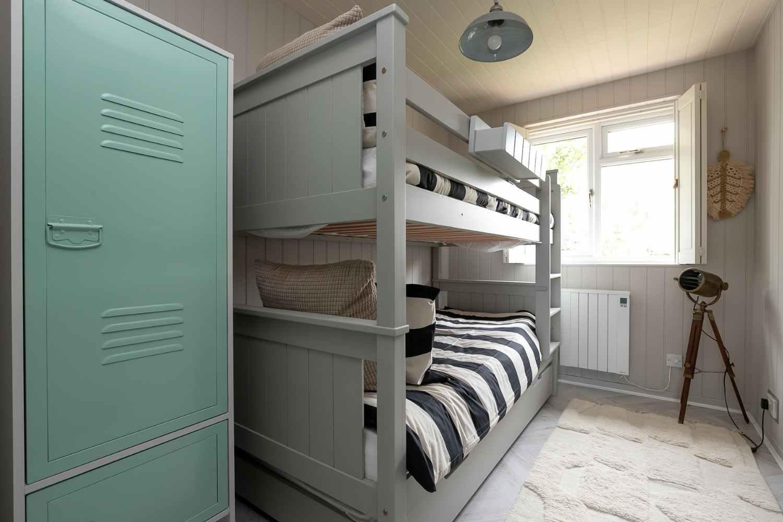 Bedroom 3 and storage locker
