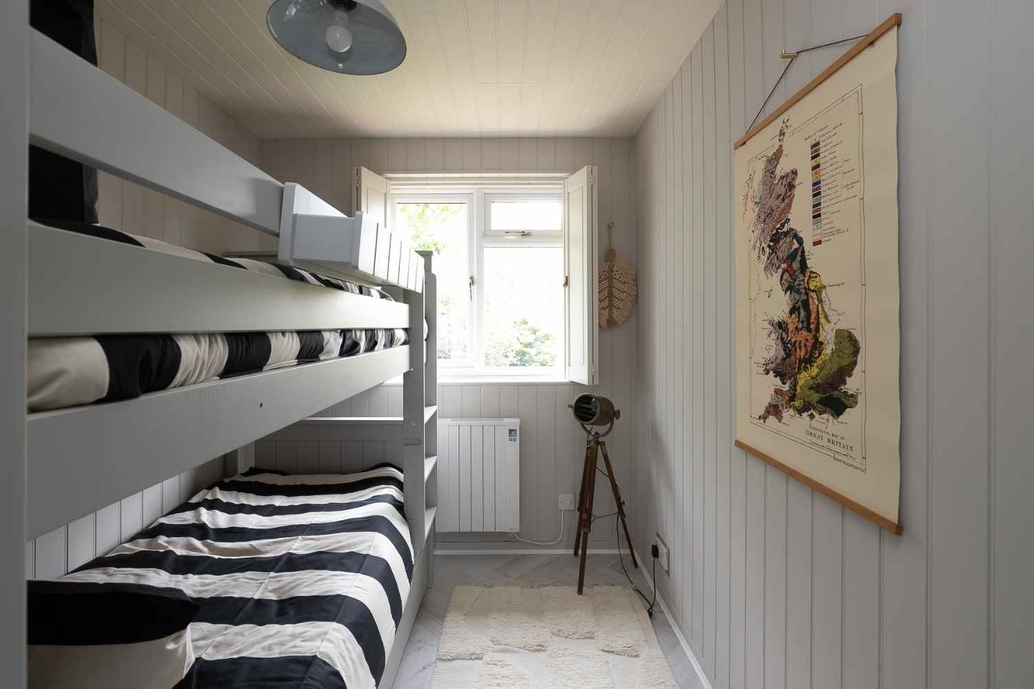 Bunk room with pull out trundle