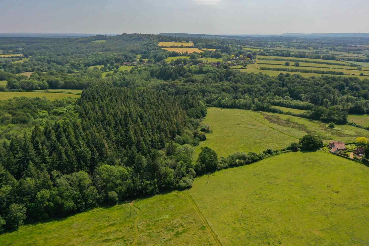Set in stunning countryside