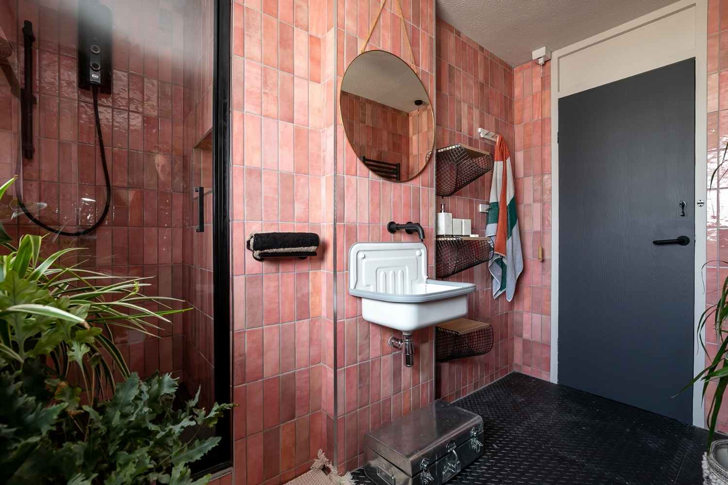 The bathroom - home of industrial chic