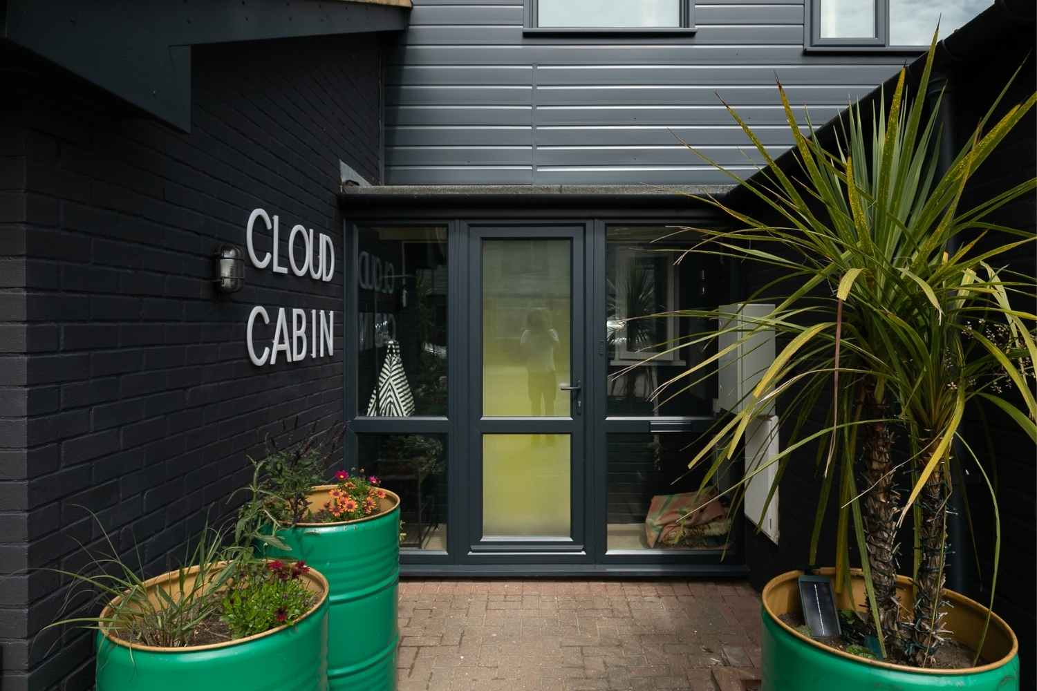 The entrance to Cloud Cabin