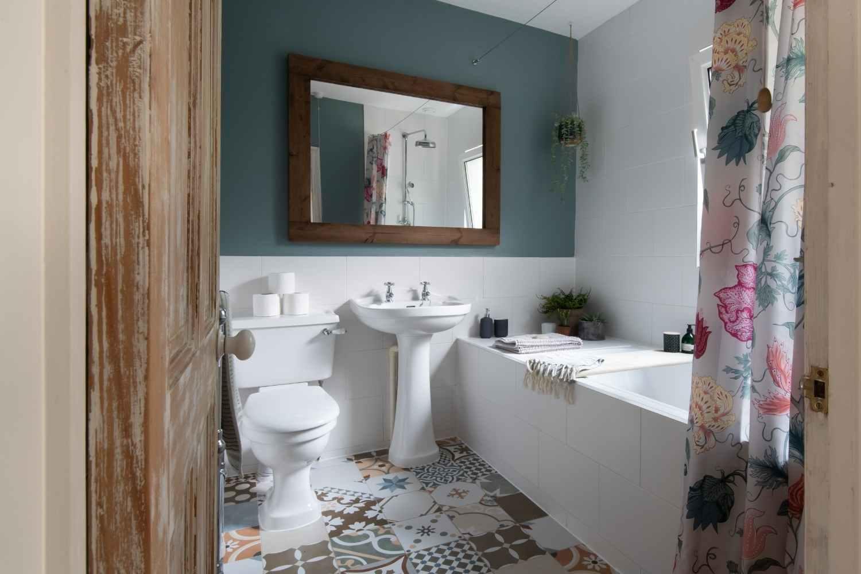 Bathroom - with shower over bath