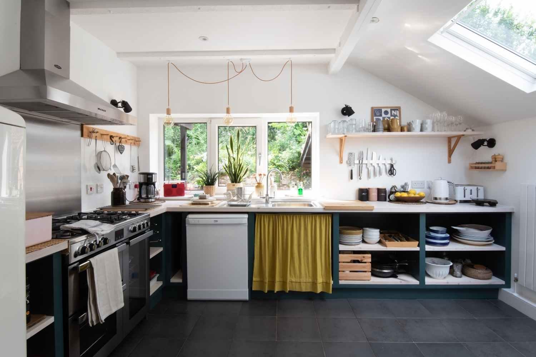 Bright, airy and stylish kitchen