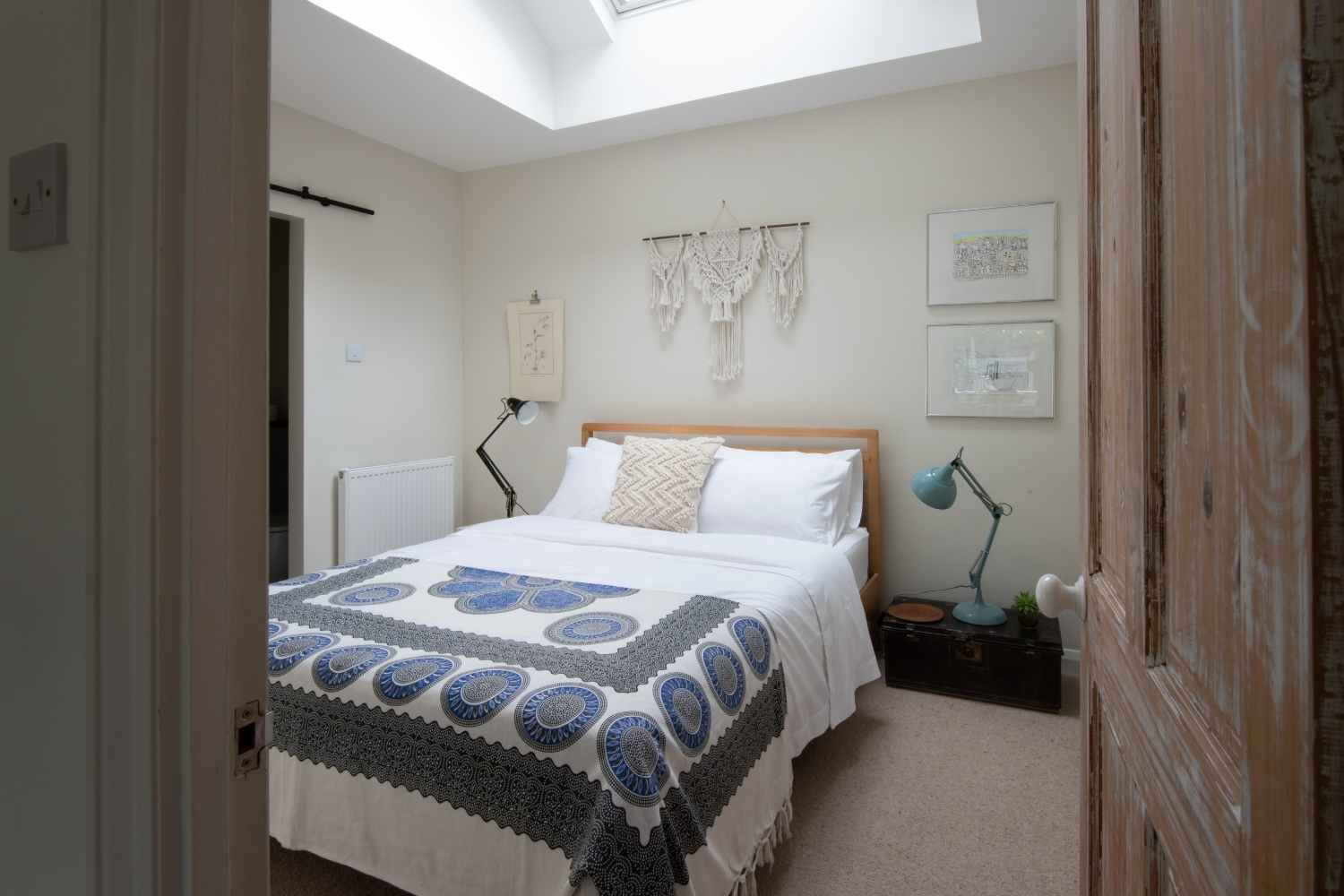 King sized Bedroom One
