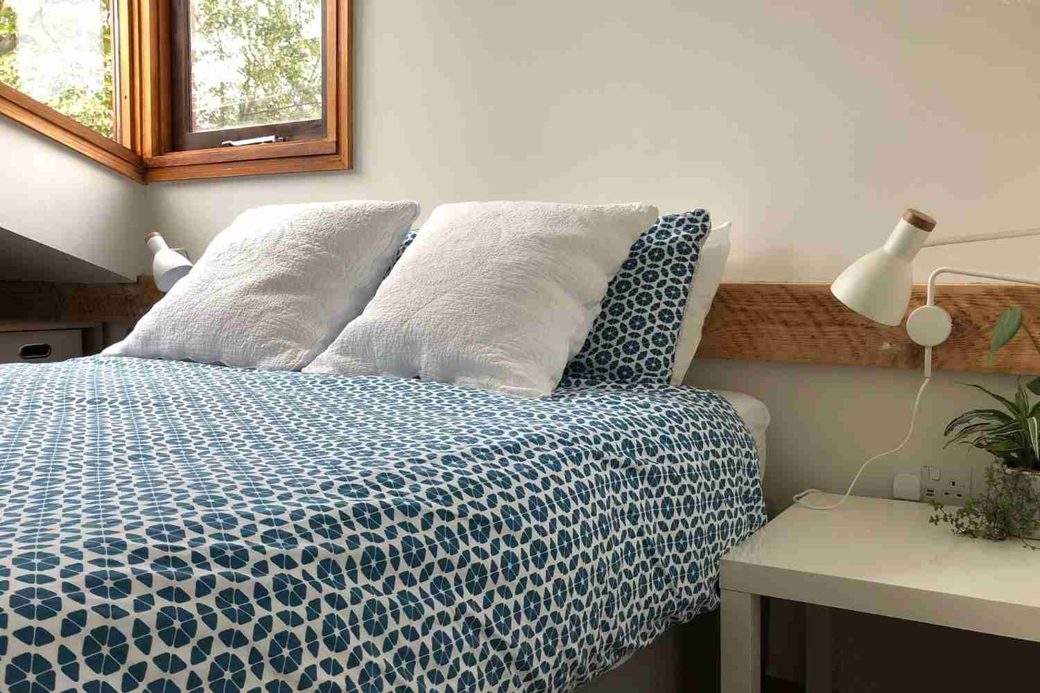 Bedroom One - simply but imaginatively styled