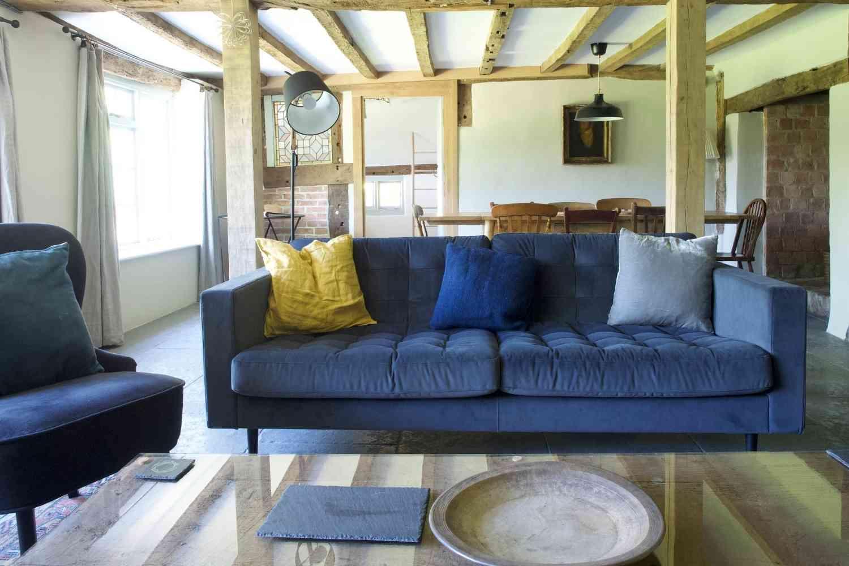 Comfortable living room sofas